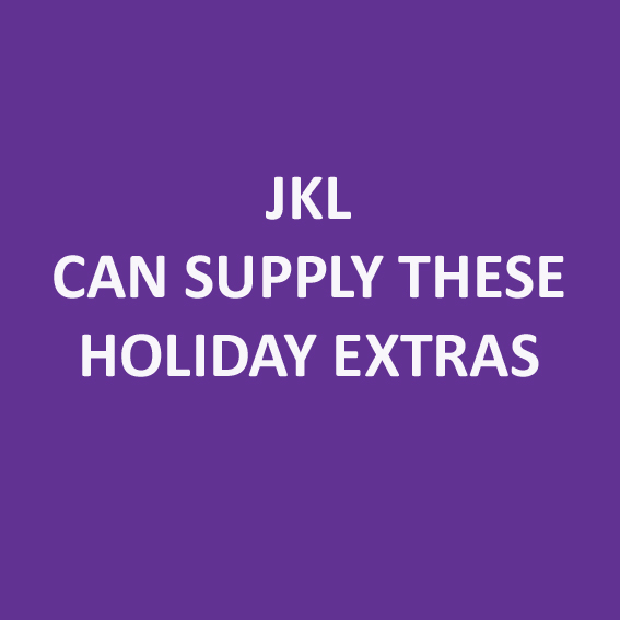 Do you need Linen, Wifi or a late checkout? JKL Can supply this for you!